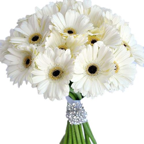"""Букет """"Белый блеск"""" хризантемы"""