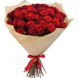 Фото товара 35 красных роз в Ровно