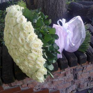 201 белая роза в Ровно фото