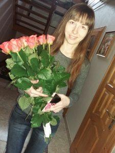 Фото товару 21 троянда Вау