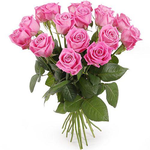 """букет 15 роз """"Аква"""""""