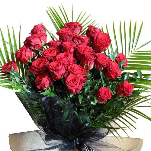 Похоронный букет цветов на заказ
