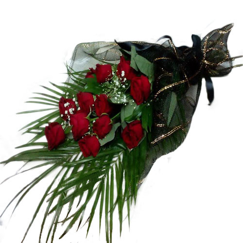 Траурные цветы фото товара