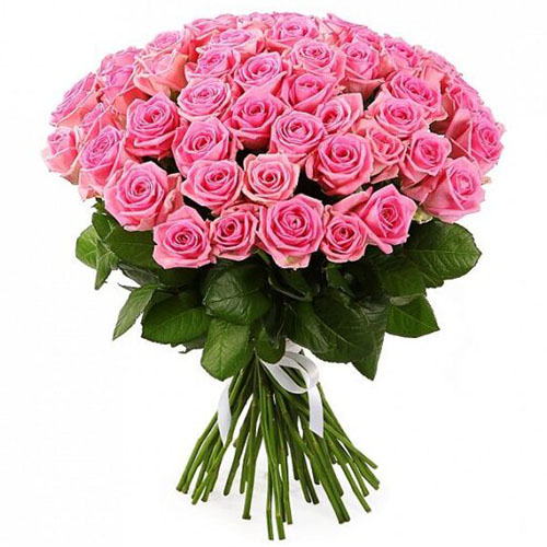 букет 51 троянда «Аква» фото