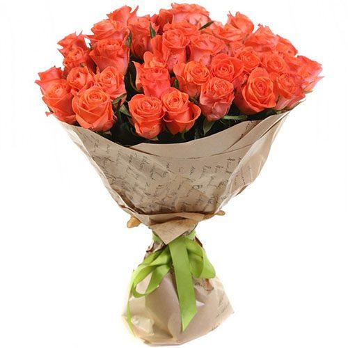 "букет 51 троянда ""Вау"" фото"