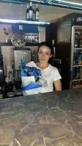 Фото товару 17 блакитних троянд