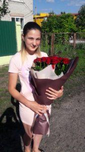 Фото товару 21 червона троянда