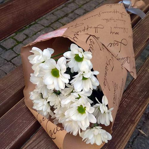 букет ромашковых хризантем в Ровно фото