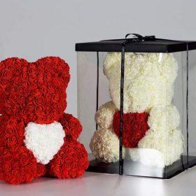 Ведмедик із троянд