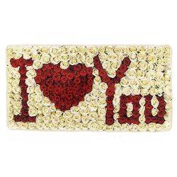 Букет «Я люблю тебя» 301 роза в коробке фото