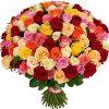 Фото товара 101 троянда мікс в Ровно