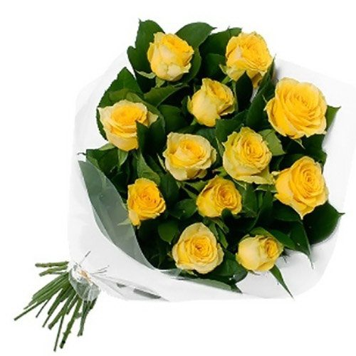 Фото товара 11 жовтих троянд в Ровно