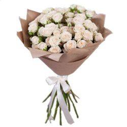 Фото товара 15 кущових троянд в Ровно
