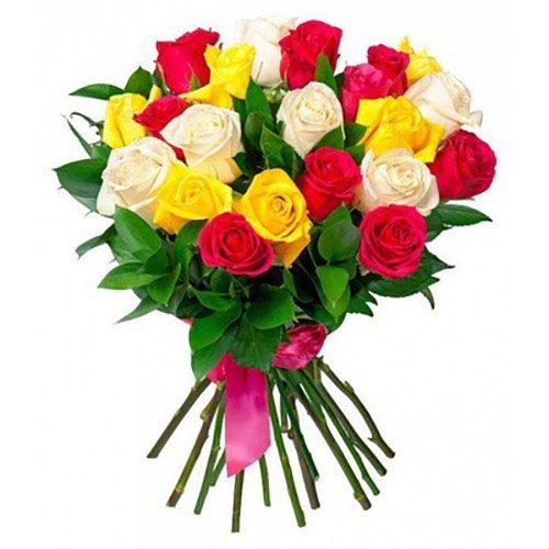 Фото товара 21 троянда мікс в Ровно