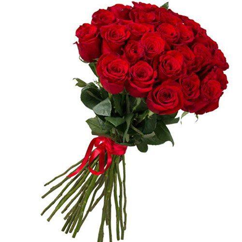 Фото товара 25 імпортних троянд в Ровно