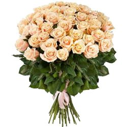 Фото товара 51 кремова троянда в Ровно