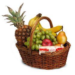 Фото товара Середній кошик фруктів в Ровно