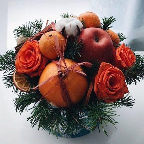 """Фото товара Коробка """"Оранжевое настроение"""" в Ровно"""