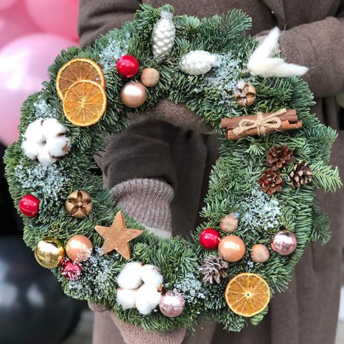 Фото товара Рождественский венок в Ровно