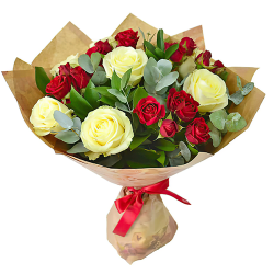"""Фото товара Букет """"Поцелуй розы"""" в Ровно"""