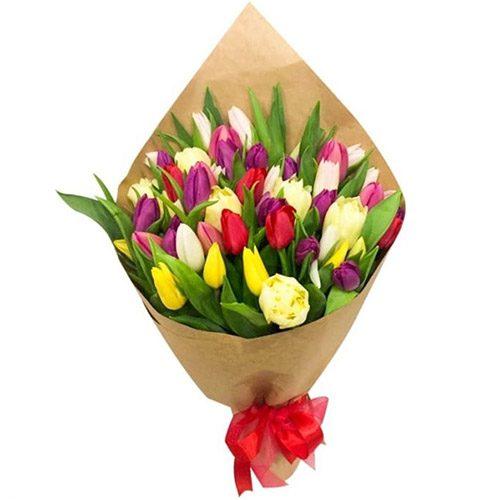 """Фото товара 45 тюльпанів """"Драже"""" в Ровно"""