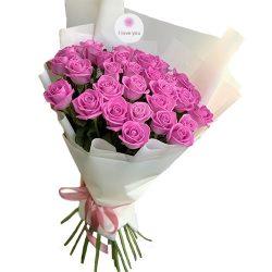 """Фото товара 31 роза """"Аква"""" в Ровно"""
