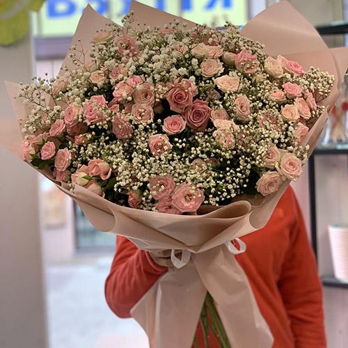 гіпсофіла і роза спрей в Рівному фото