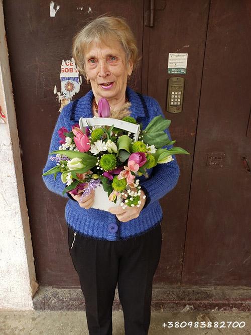 фото доставки цветов в Ровно